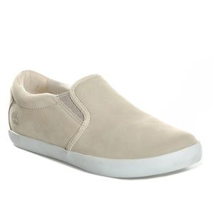 Timberland Women's Brattleboro Leather Slip-On 7.5